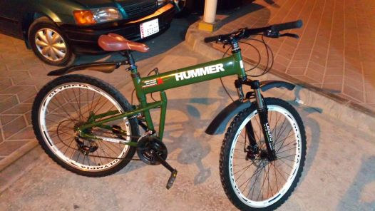 HUMMER MONTBIKE new condition.
