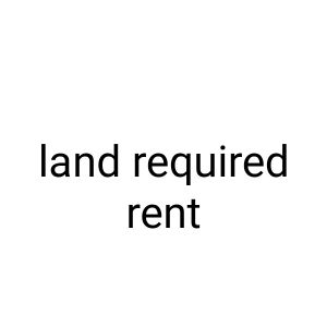 required land for rent 5000 sqm