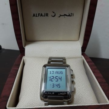 new alfajr watch not used for sale