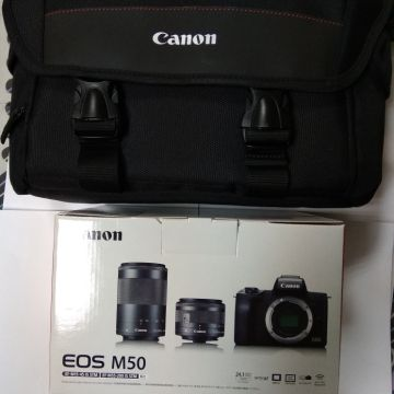 brand new cannon Eos M50