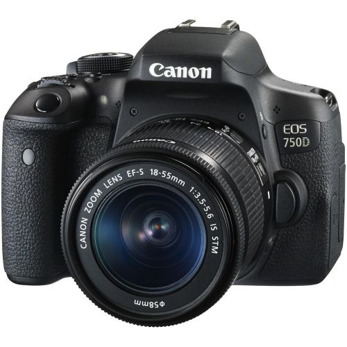 Canon 750d with 18_55stm