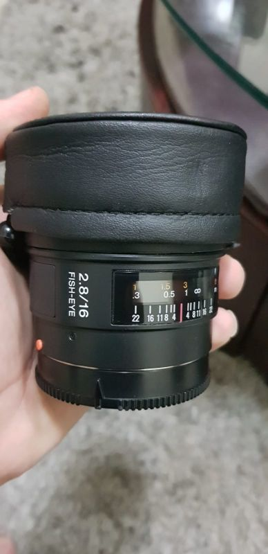 Sony 16mm fisheye a-mount