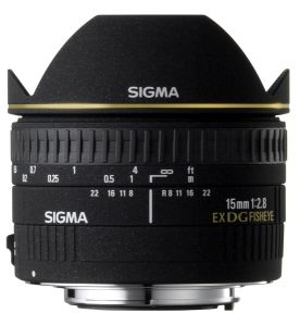 Sigma 15mm 2.8 for Canon