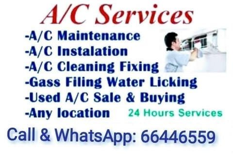 sale and buying AC window and spilit