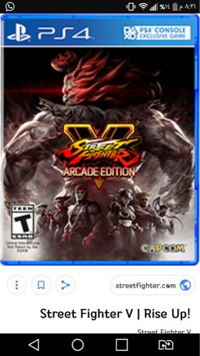 street fighter PS4