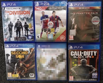 PS4 Games For Swap Only
