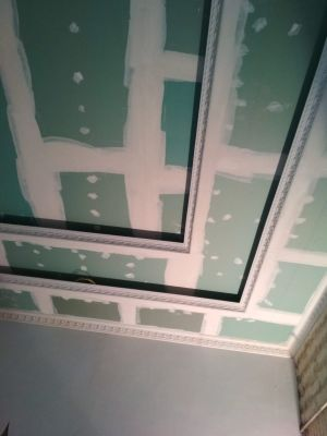gypsum and paint & partition