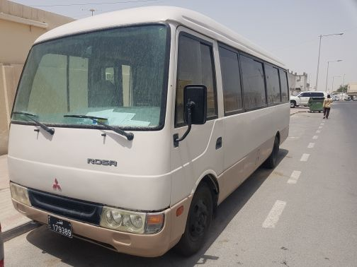Mitsubishi bus model 2005,28 seat,