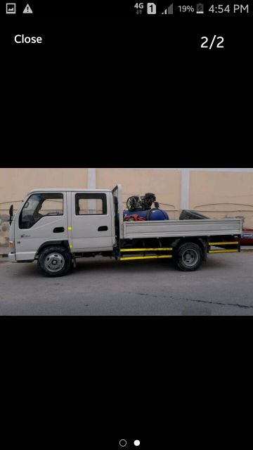 for rent picup double cabin 3 ton