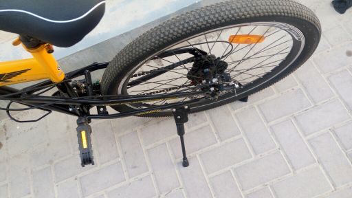 Foldable 26 size skid fusion bicycle