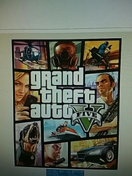 PS4 GTA 5 FOR SALE