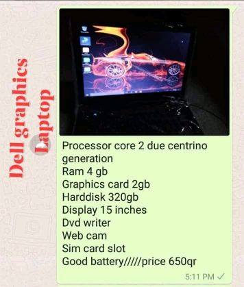 3 pieces office used laptop for sell