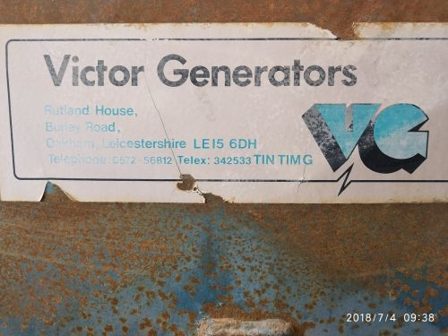 British power Victor generator