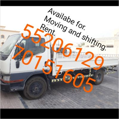 Availabe for. Moving and shifting. Rent.