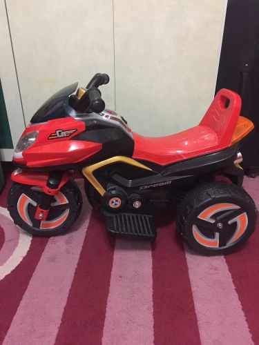 Charger scoter