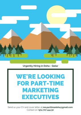 Wanted Parttime Marketing Executives