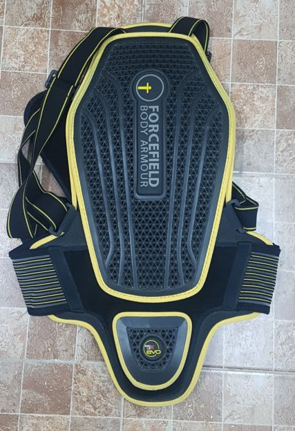 spine protection pad