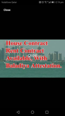 House contract for family Visa, Health c