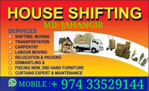Moving Shifting house office villa remov