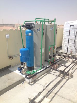 Central water heater