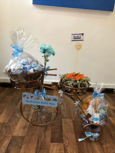 Baby shower gift cycle