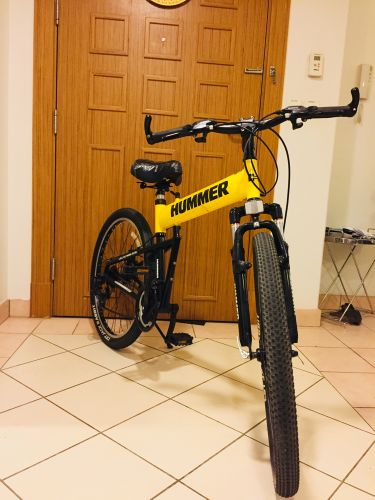 Hummer foldable bicycle for sale