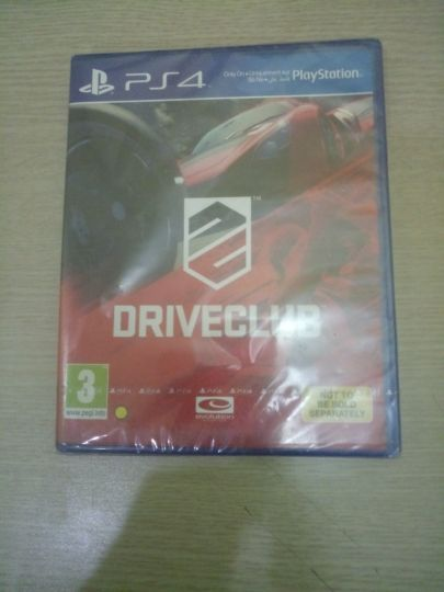 driver Club sealed never opened