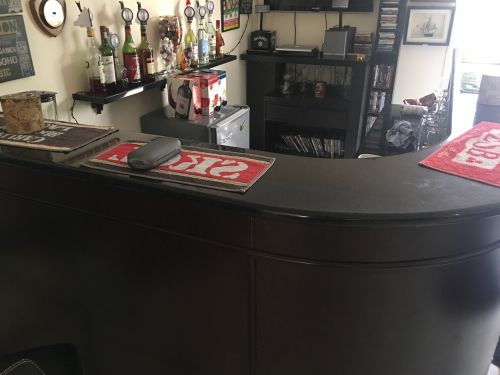 Reception counter or cocktail cou