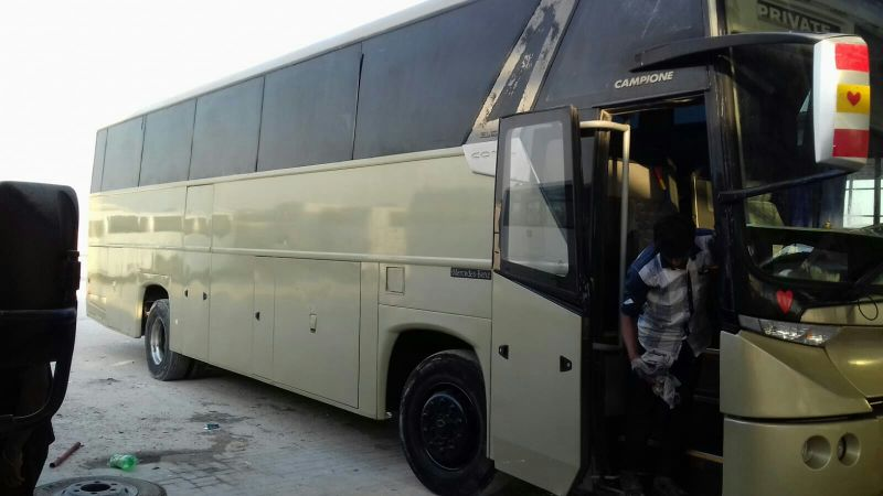 benz bus for sale or rent