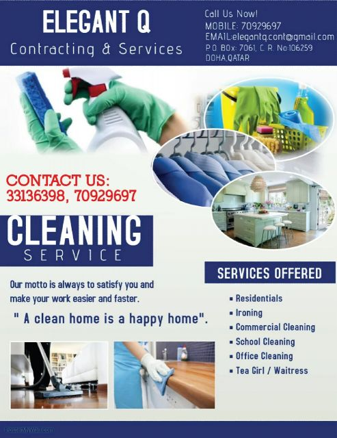 ELEGANT Q CLEANING AND SERVICES