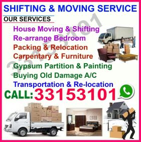 moving and shifting service
