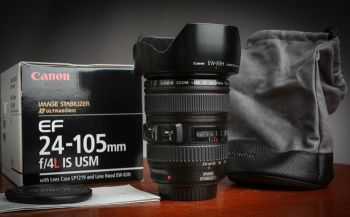 Canon 24-105mm Like New