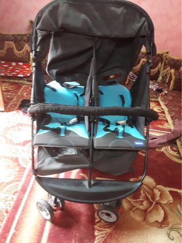 Twin baby carriage
