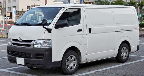 Toyota buses for rent