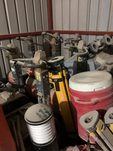 Used concrete equipment and weldi
