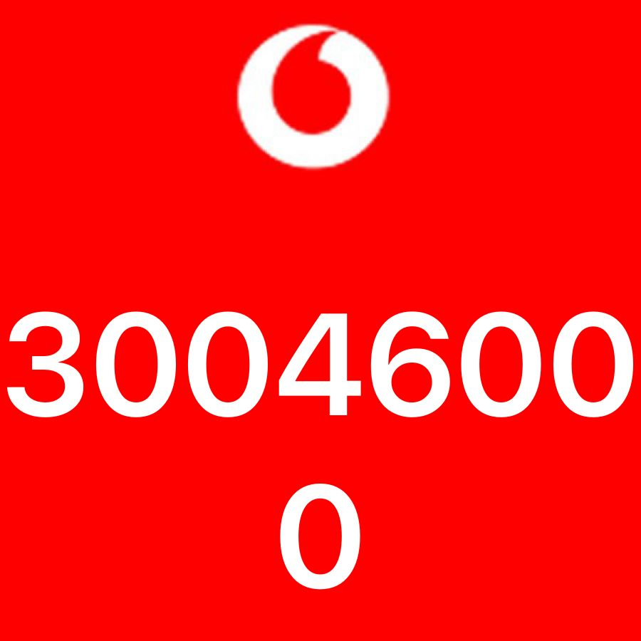 Vodafone Number for sale