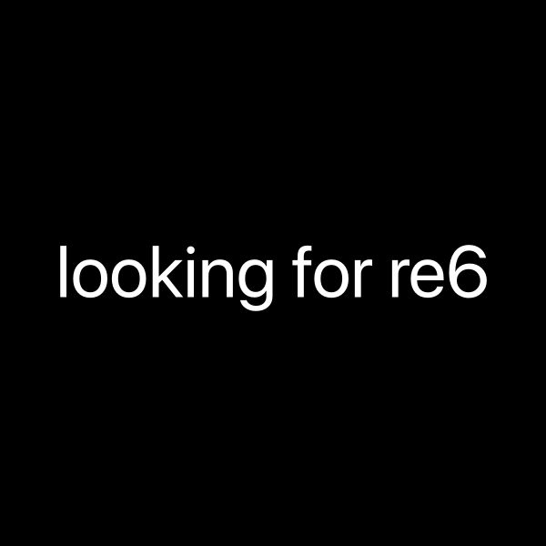looking for RE6