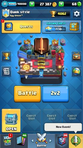 Clash royal account best sale