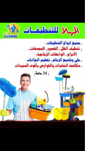 Cleaning houses and villas