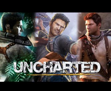 UNCHARTED 1.2.3.   ps4