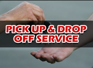 Pick up & Drop off Services Monthly
