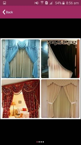 Curtains makings