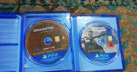 uncharted 4 and sniper elite4
