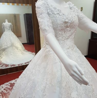Brand new gown for wedding