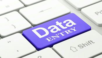 Look for the Data Entry job