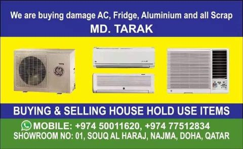 You buing and selling any brand ac..work