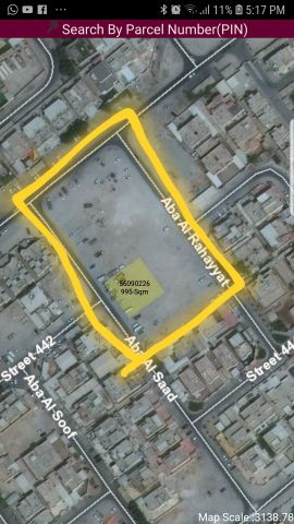 Land 7863 sqm for Sale in Abu Hamour