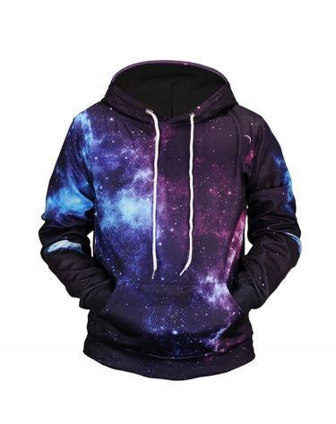 High quality galaxy hoodie