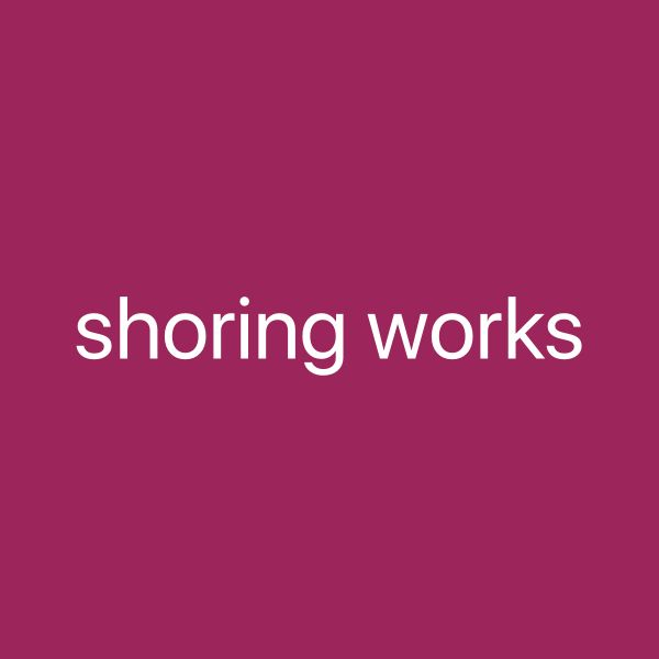 We Need company for shoring work