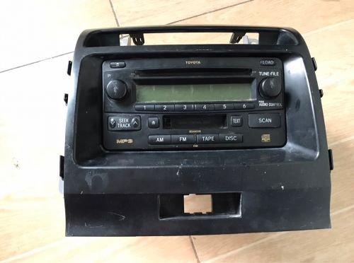 Car radio with cd